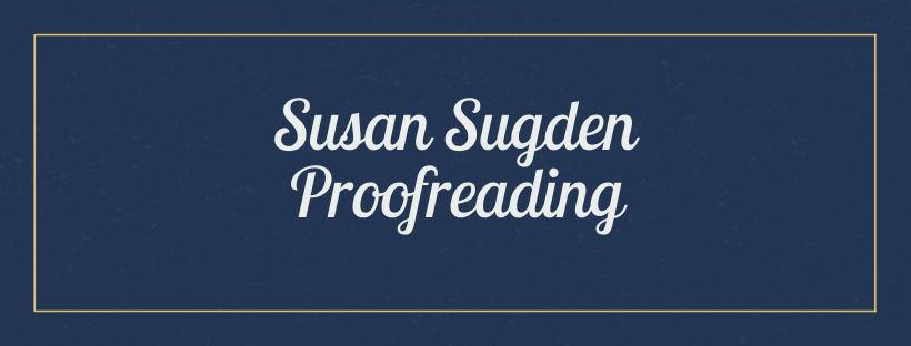 Susan Sugden Proofreading